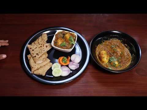 Egg Curry in restaurant style | Egg masala in kannada | Egg gravy with Tava paratha