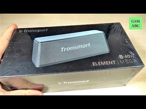 Tronsmart ELEMENT MEGA 40W Bluetooth Speaker | Unboxing & How it sounds?