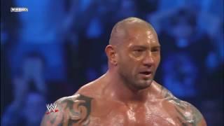 Rey Mysterio vs. Batista  and Undertaker Smackdown.