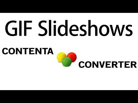 Creating animated GIF slideshows