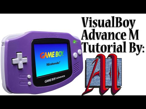 Visual Boy Advance M Tutorial - Download, Installation, Adjusting Inputs, and Trading