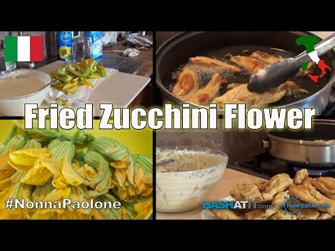 Episode #5 - Fried Zucchini Flower with Nonna Paolone