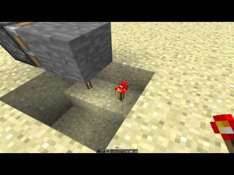 Redstone Engine/Motor in Vanilla Minecraft 1.7.4 (Redstone Tutorial) [EASY]