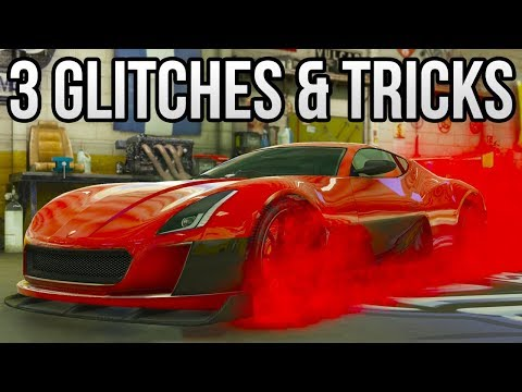 GTA 5 Online - 3 NEW GLITCHES & TRICKS (Custom Shop Glitch, Invincible Glitch & Rare Plane Trick)