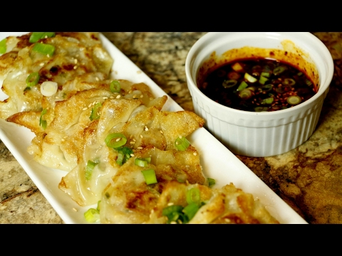 How to Make Asian Potstickers - Easy Recipe - Cooking With Hua