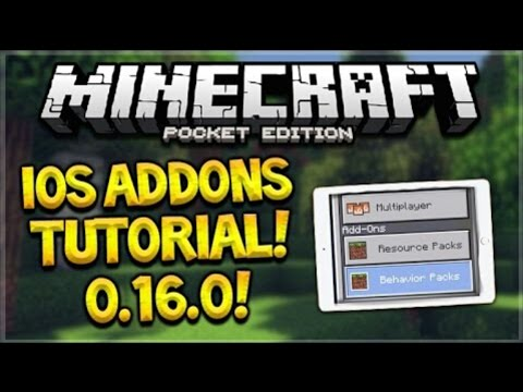 How to get addons for mcpe ios