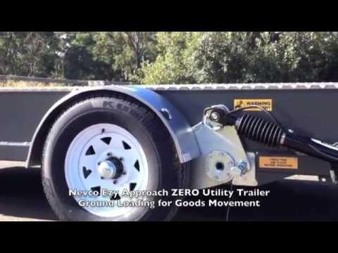 Nevco Ezy Approach ZERO Utility Trailer