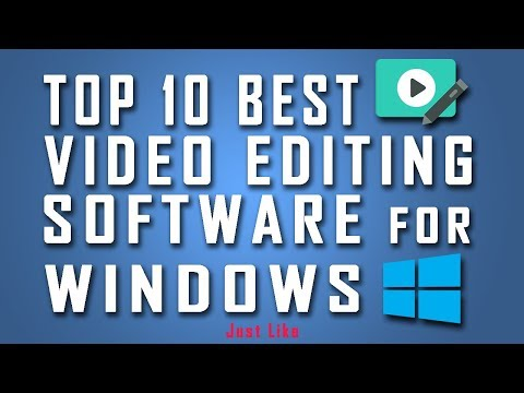 Top 10 Best Video Editing Software for Windows 7/8/10 PC
