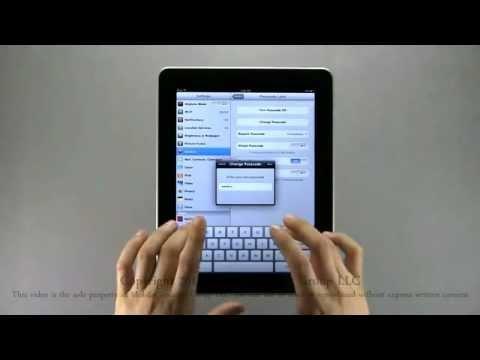 Tutorial - Apple iPad [3 of 4]