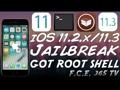iOS 11.2.x/11.2.6/11.3 JAILBREAK UPDATE: ROOT SHELL ACHIEVED!