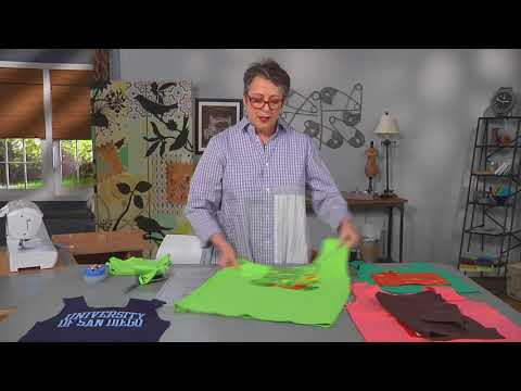 Transform a tee shirt into a grocery bag on It's Sew Easy with Michelle Paganini (1510-3)