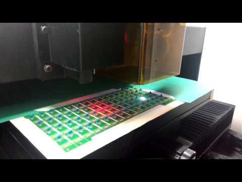 PCB laser cutting machine
