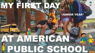 My FIRST DAY of AMERICAN PUBLIC SCHOOL