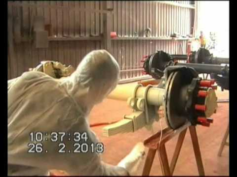 Wagner GM5000 Electrostatic Spray Gun Product Demonstration