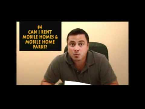 Can I Rent Mobile Homes & Mobile Home Parks?