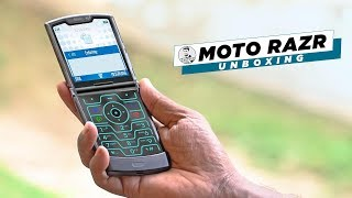 Moto Razr 2019 /w Foldable Display - Unboxing & Hands On!