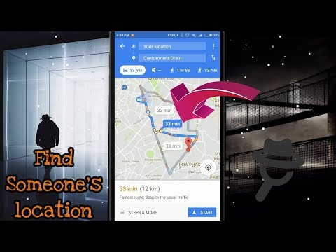 How To Track Any Person Exact Location Without Touching Their Phone 😱   2018 [Urdu/Hindi]