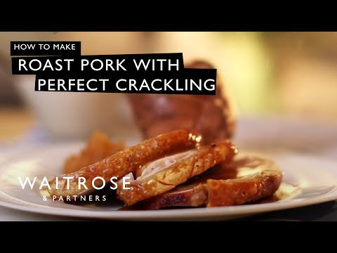 Roast Pork With Perfect Crackling | Waitrose