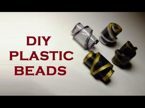 DIY Plastic BEADS (Shrink Plastic) TUTORIAL
