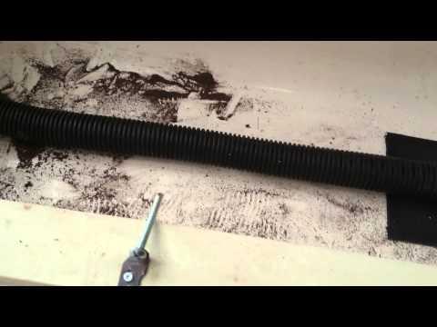 Worm Farming - bathtub worm farm construction - vid 1 - 130215