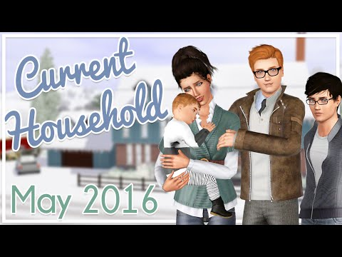 The Sims 3 Current Household: The Hammond Family (May 2016)