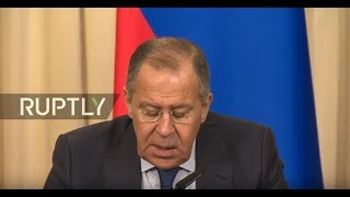 LIVE: Lavrov holds joint press conference with Algerian FM in Moscow