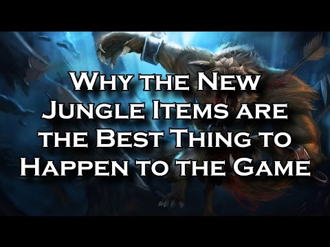 Why the New Jungle Items are the Best Thing to Happen to the Game in Season 5 | League of Legends