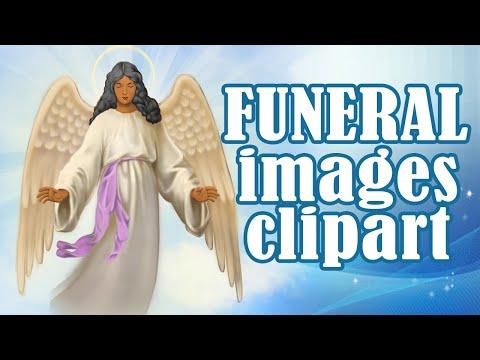 Digital Clipart Illustration Images For Funeral