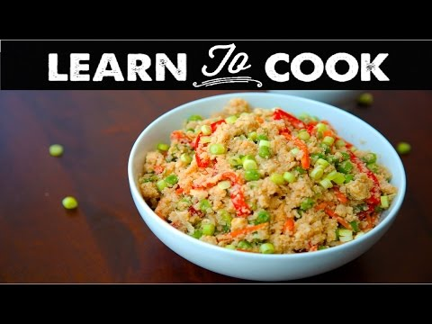 Learn To Cook: Cauliflower Fried Rice