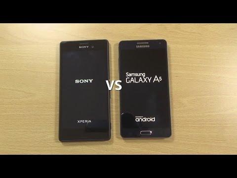Sony Xperia M4 Aqua VS Samsung Galaxy A5 - Speed Test!