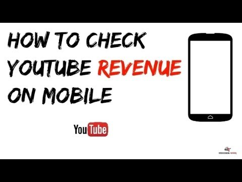 how to check total earning on youtube in android