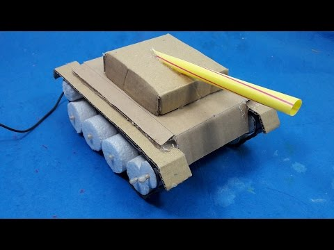How to Make a Control Tank - DIY RC Tank