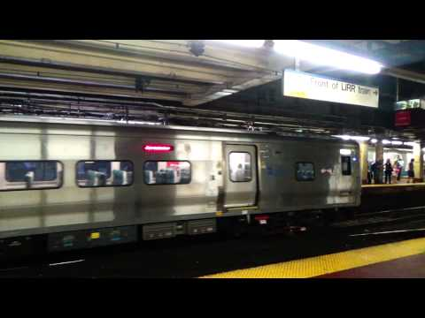 Two M7 LIRR Trains @ Penn Station