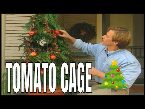 Tomato Cage Christmas Trees