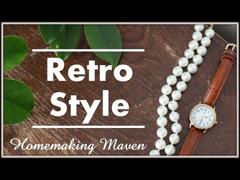 1940's Retro Outfit | OOTD | Homemaking Maven