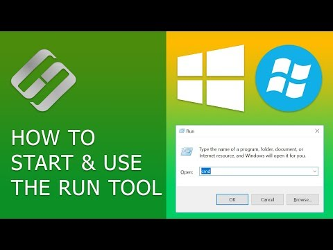 How to Start and Use the Run Tool in Windows 10, 8 or 7 🔨 📝 💻