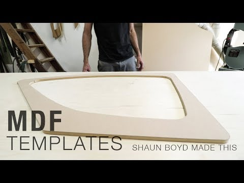 How to Make MDF Furniture Templates