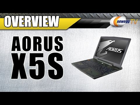 Aorus X5S Gaming Laptop Overview - Newegg TV