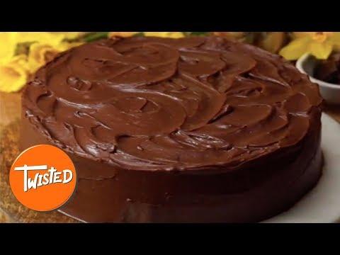 Baileys Chocolate Fudge Cake Recipe | Twisted