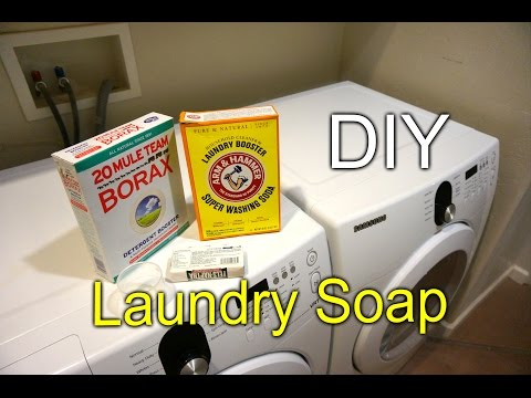Making Liquid Laundry Soap - How to