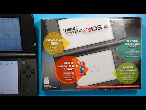 Unboxing: NEW Nintendo 3DS XL