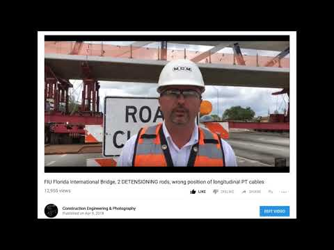 FIU Bridge Collapse & NTSB puts out FALSE PLANS NTSB unqualified? FDOT REMOVES THESE PLANS FROM SITE