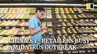 E-commerce companies in China offer temporary jobs to thousands amid coronavirus outbreak