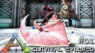 ARK: SURVIVAL EVOLVED - PRIMAL GRIFFIN & CONFLAGRANT ANKYLO