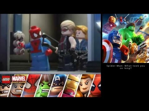 LEGO Marvel Super Heroes: Universe in Peril (3DS/Vita) Walkthrough Part 5 - Oscorp Offices/Basement