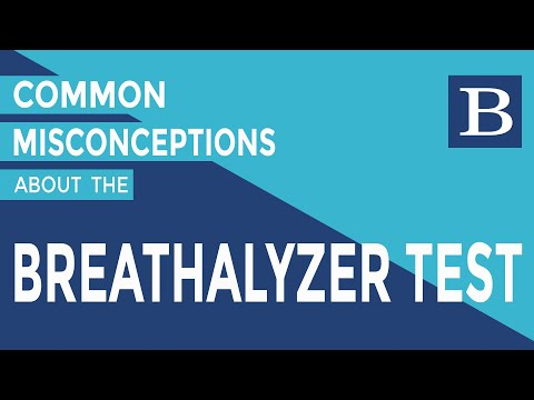 John Bateman - Common Misconceptions About The Breathalyzer Test