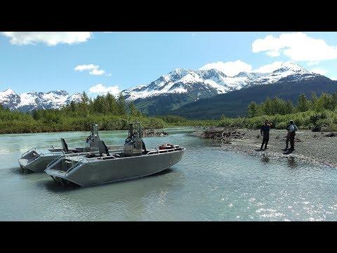 20 Mile, Carmen Lake run. 14' mini jet boats