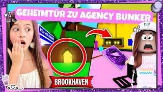 Ich finde GEHEIMEN AGENCY BUNKER in  BROOKHAVEN!! Viele neue Geheimnisse Teil 1 💜 Alles Ava Gaming
