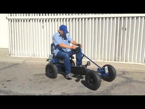 Pedal Go-Cart Races