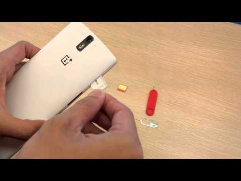 OnePlus One: How to Insert & Change SIM Card